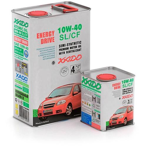 Xado atomic oil 10w 40 sl cf price buy in europe for Bulk motor oil prices
